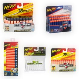 Die fünf NERF Darts
