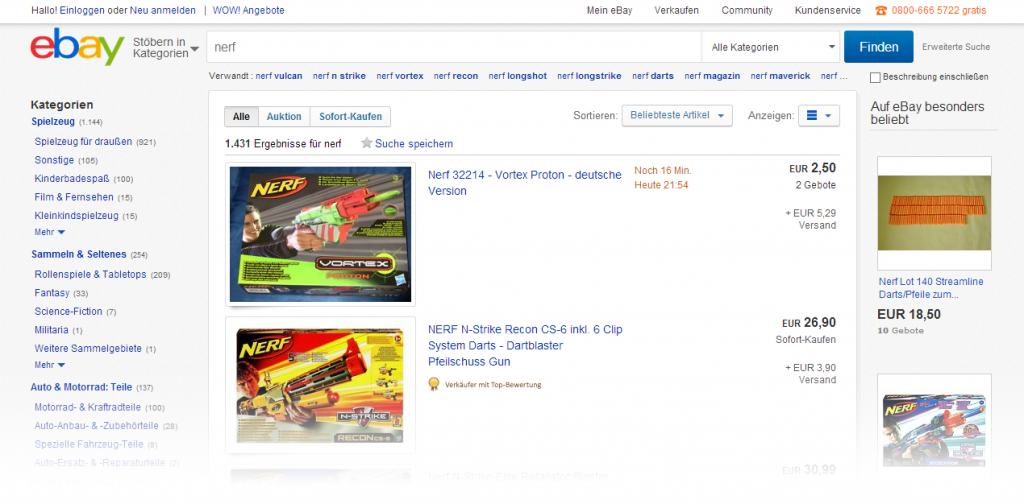 Sollte Man Eine Nerf Bei Ebay Kaufen Nerf Gun Fan
