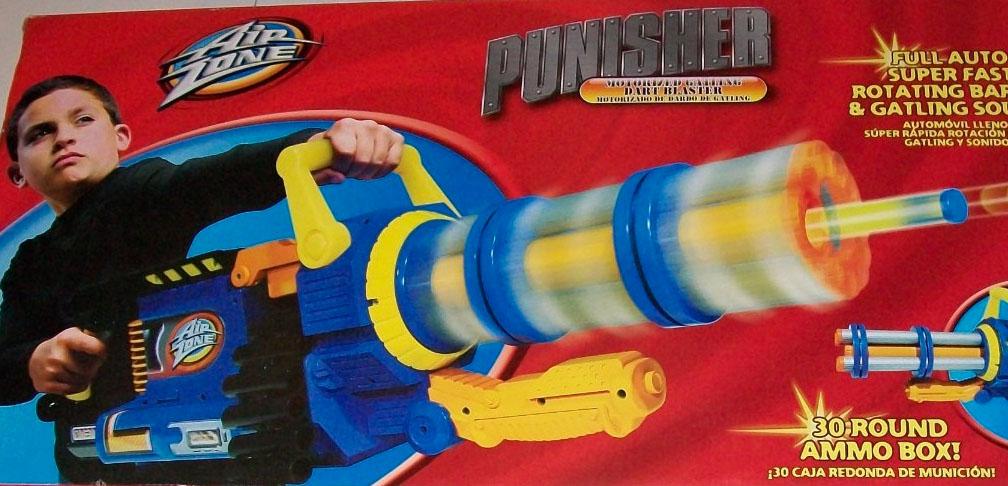 Fake Gatling Gun